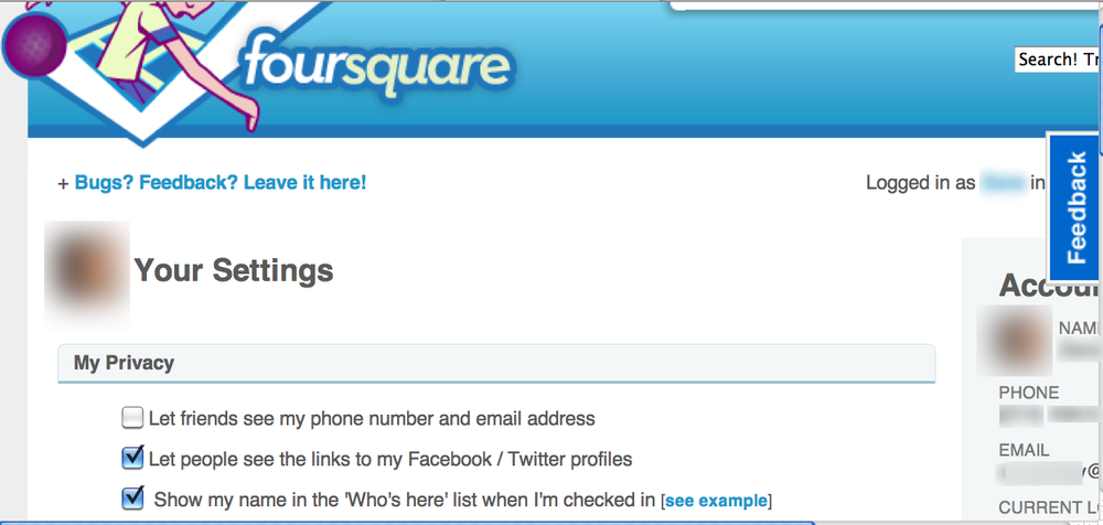 Foursquare Confirmation E-Mails Don't Respect Users Settings