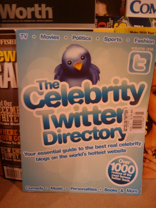 The Twitter Celebrity Directory